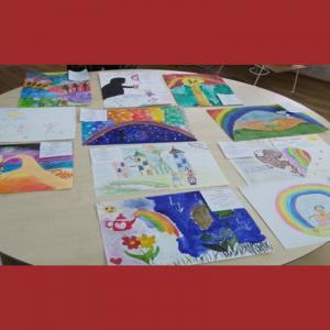 """Concursul de desen """"Copilărie fără violenţă"""""""