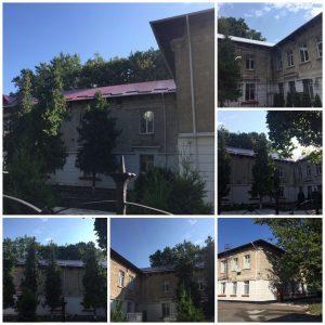 În baza banilor alocați pentru anul 2021, au fost realizate lucrări de reparație capitală a acoperișului